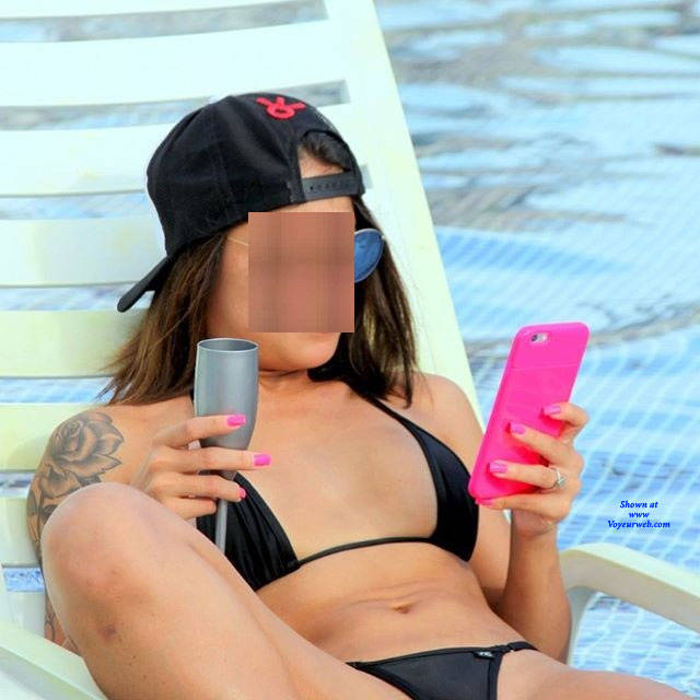 Pic #5 Brasileiras Exibidas Com Seus Bikini - Beach, Brunette, Outdoors, Bikini Voyeur, Firm Ass, Tattoos, Beach Voyeur