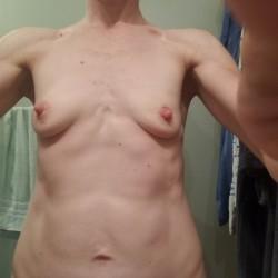 Small tits of my wife - Jennifer