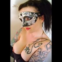 *JO Tattooed Helen's Masked BJ/HJ