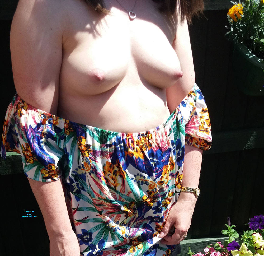 Pic #2 What You Think Of My Tits - Big Tits, Outdoors, Shaved, Amateur