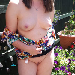 What You Think Of My Tits - Big Tits, Outdoors, Shaved, Amateur