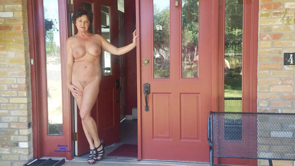 Pic #3 Around The House - Big Tits, Brunette, Amateur