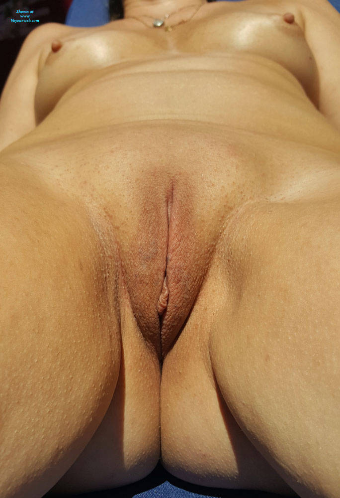 Pic #6 Sunny Days - Nude Wives, Outdoors, Shaved, Amateur