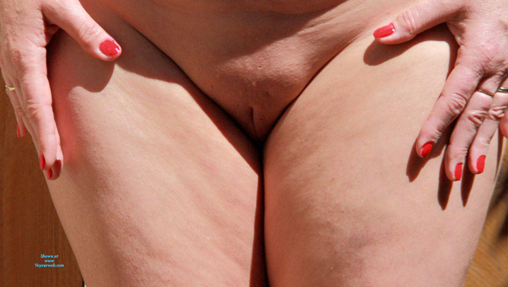 Pic #8 Sunny Days - Nude Wives, Outdoors, Shaved, Amateur
