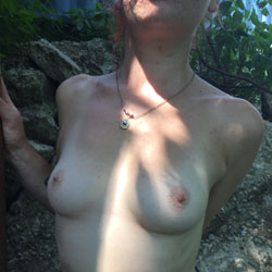 Hiking In The City Park - Topless Girls, Outdoors, Amateur