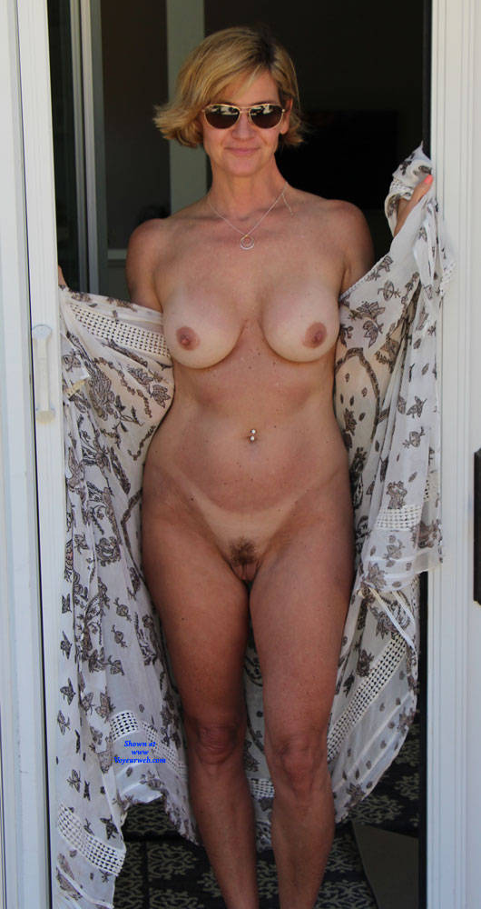 Pic #2 Just Another Nice Day In The Sun - Nude Wives, Big Tits, Outdoors, Bush Or Hairy, Amateur