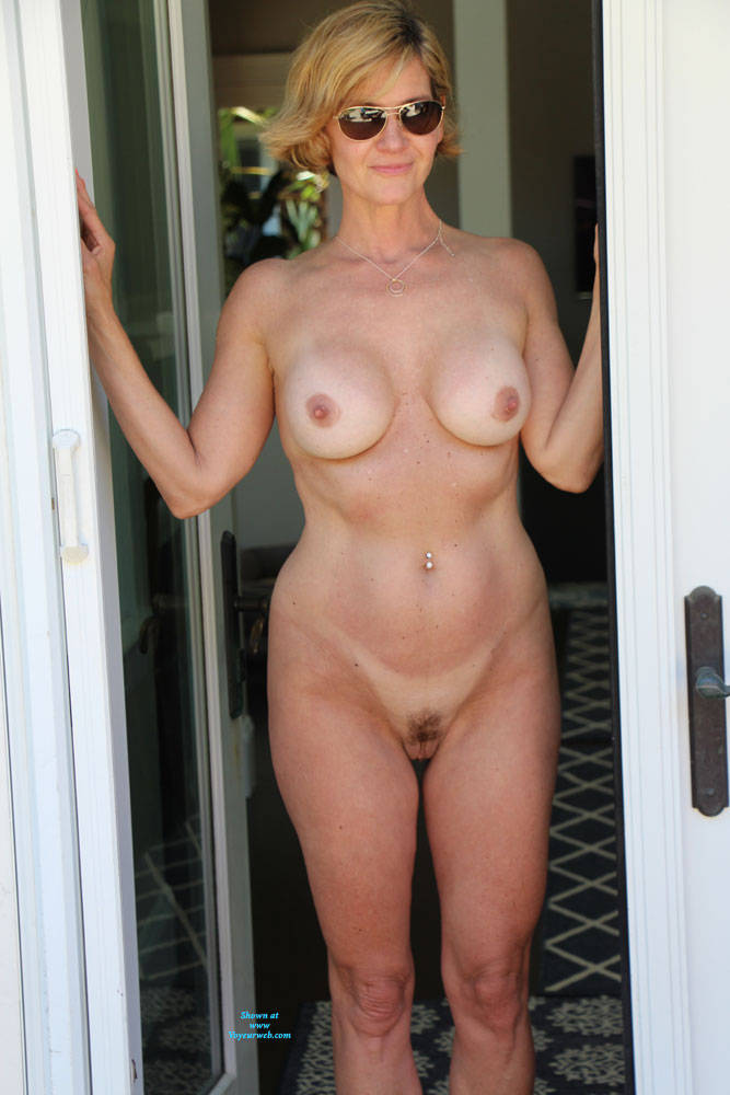 Pic #3 Just Another Nice Day In The Sun - Nude Wives, Big Tits, Outdoors, Bush Or Hairy, Amateur