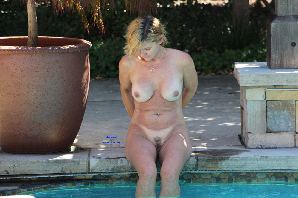 Pic #4 Just Another Nice Day In The Sun - Nude Wives, Big Tits, Outdoors, Bush Or Hairy, Amateur