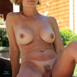 Pic #7 Just Another Nice Day In The Sun - Nude Wives, Big Tits, Outdoors, Bush Or Hairy, Amateur