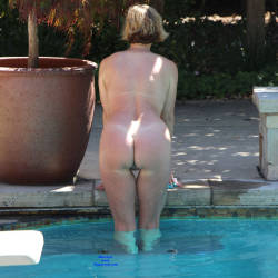 Pic #5 Just Another Nice Day In The Sun - Nude Wives, Big Tits, Outdoors, Bush Or Hairy, Amateur
