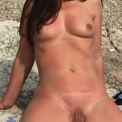 Naughty Janet! - Big Tits, Outdoors, Amateur, Nude Wives