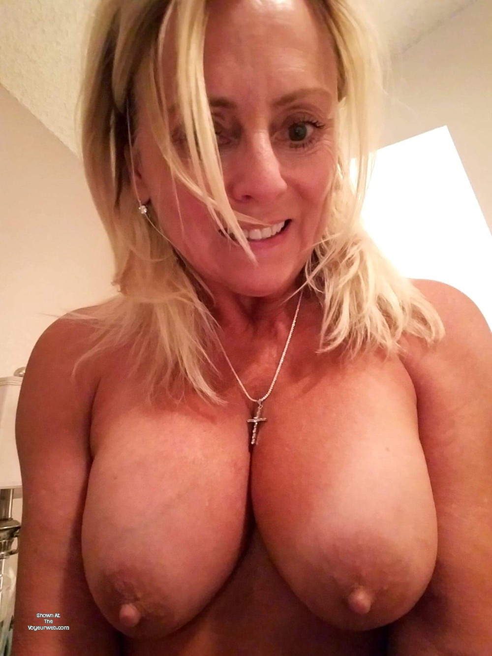 Pic #1 Large tits of a co-worker - betty