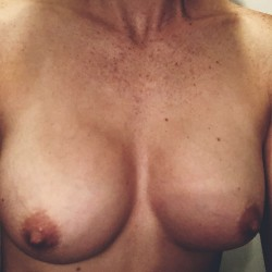 Medium tits of my wife - Constance