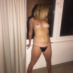 Small tits of my wife - Brenda