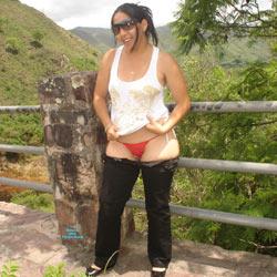 Walk - Big Tits, Brunette, Outdoors, Amateur