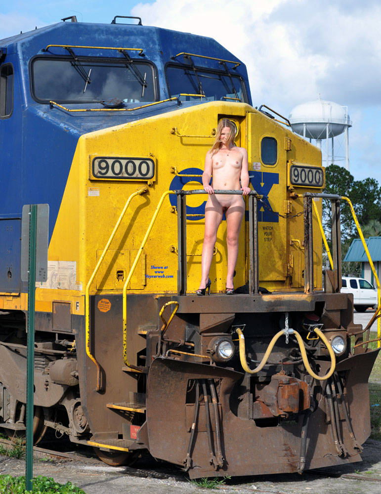 Naked On The Railroad - Blonde Hair, Exposed In Public, Flashing, Heels, Naked Outdoors, Nipples, Nude In Public, Nude Outdoors, Shaved Pussy, Small Breasts, Small Tits, Hairless Pussy, Hot Girl, Naked Girl, Sexy Body, Sexy Face, Sexy Feet, Sexy Figure, Sexy Girl, Sexy Legs , Outdoors, Railroad, Blonde, Naked, Heels, Small Tits, Shaved Pussy