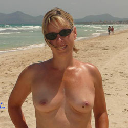 Bettina From Germany Hamburg - Beach, Big Tits, Outdoors, Amateur