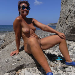 Black Sand - Nude Girls, Beach, Outdoors, Amateur