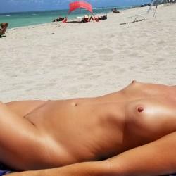 Medium tits of my wife - Sweet girl