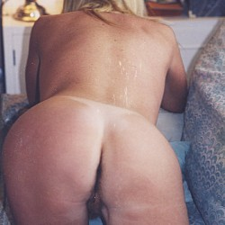 My ass - Blonde Milf