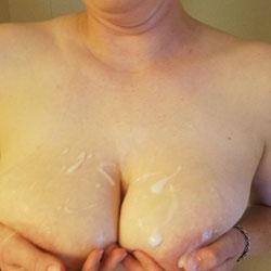 Did He Miss A Spot? - Nude Girls, Big Tits, Cumshot, Shaved, Amateur