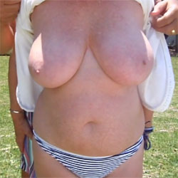 Another Episode Of Garden Fun - Big Tits, Outdoors, Amateur