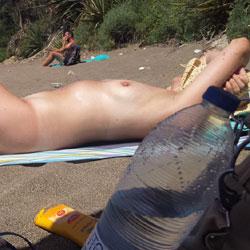 My First Time Taking Pics At The Beach - Nude Girls, Beach, Beach Voyeur, Outdoors