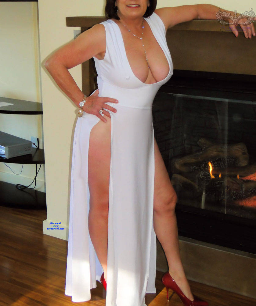 Pic #5 You Will Enjoy This GILF - Big Tits, See Through, Amateur