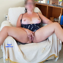 Vacation Time! - Big Tits, Shaved, Amateur, legs spread wide open