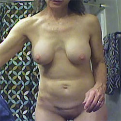 Out Of The Shower - Nude Friends, Big Tits, Brunette, Shaved, Amateur, Mature
