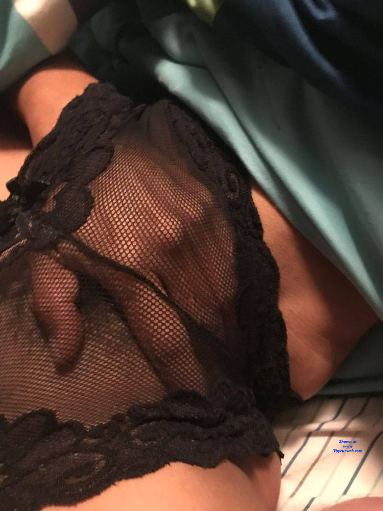 Pic #3 Sheer Panties And Pussy - Wives In Lingerie, Bush Or Hairy, Amateur