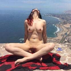 Redhead Wife Nude In Heels Pic