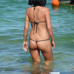 Asses From Southern Italy, Spain And Greece - Beach, Outdoors, Bikini Voyeur, Beach Voyeur
