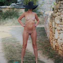 Hat And Heels In Outdoor - Exposed In Public, Heels, Naked Outdoors, Nipples, Nude Outdoors, Small Breasts, Small Tits, Hot Girl, Naked Girl, Sexy Body, Sexy Figure, Sexy Girl, Sexy Legs, Amateur