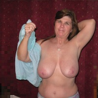 Extremely large tits of my wife - Becky C