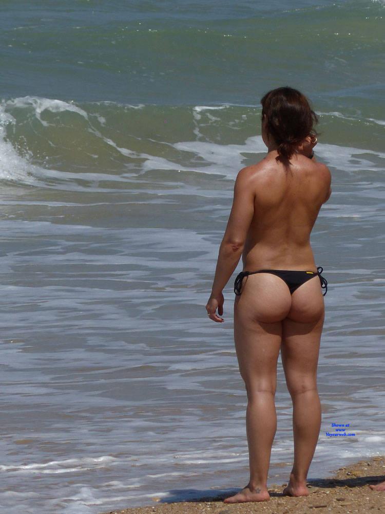 tits at the beach