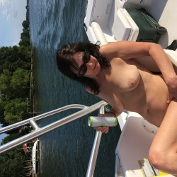Medium tits of my wife - Ginagirl