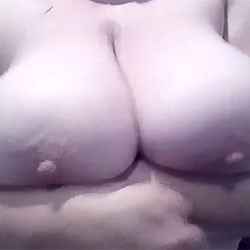 Tracey Jiggles Her Big Tits For Your Cum And Comments - Big Tits, Wife/wives, Amateur