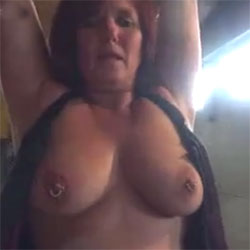 Lisa Tied And Fucked Part 2 - Big Tits, Toys, Penetration Or Hardcore, Shaved, Close-Ups, Amateur, Body Piercings, Tattoos