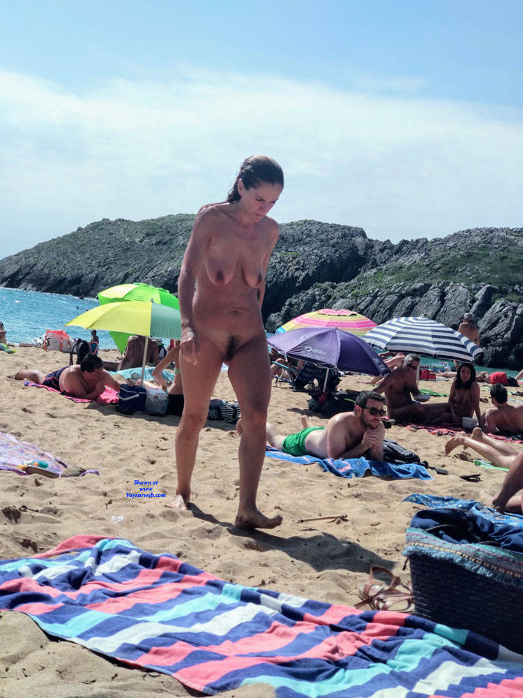 North Spanish Beach Women - August, 2018 - Voyeur Web-7251