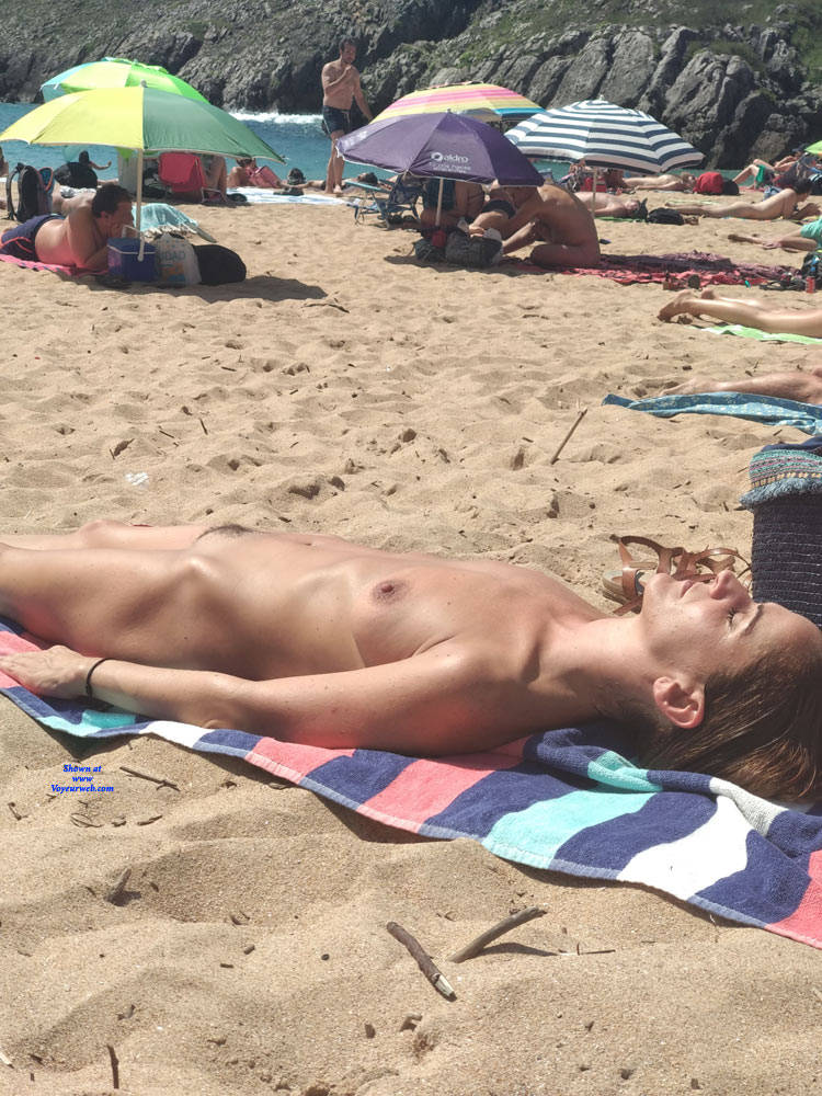nude in spanish beach