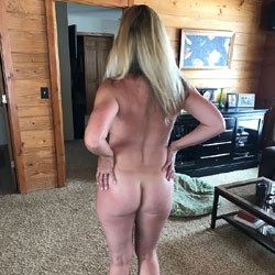 Nude wives at home