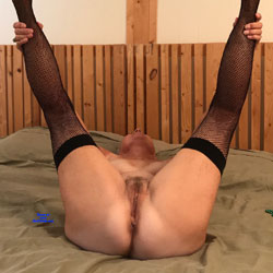 70 Year Mystery - Nude Amateurs, Lingerie, Mature, Bush Or Hairy, stockings pics, legs spread wide open
