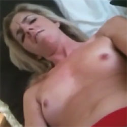Horny Blonde Masturbates And Cums - Blonde, Small Tits, Toys, Amateur