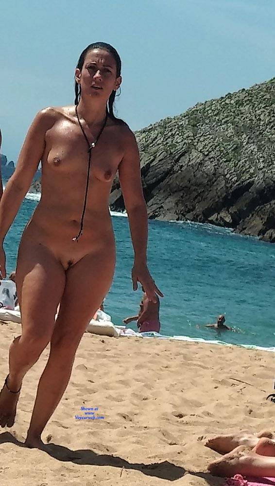 Some Girls From North Of Spain Beach - September, 2018 - Voyeur Web-6455