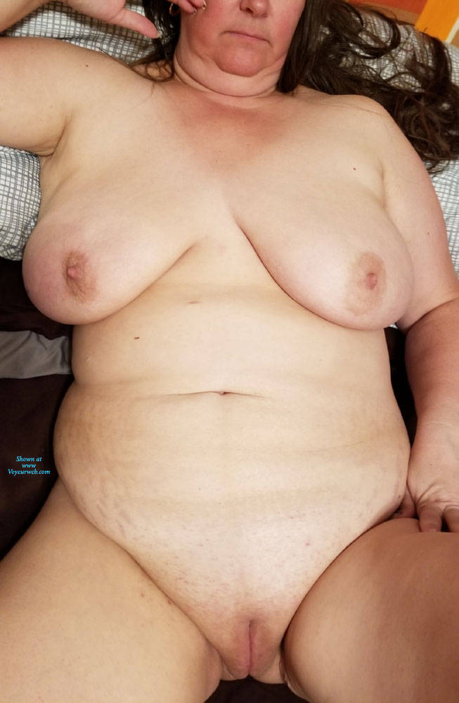 Pic #4 My Jiggly Wife Nude - Nude Wives, Big Tits, Shaved, Amateur