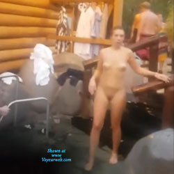 In A German Spa Part 2 - Nude Girls, Amateur