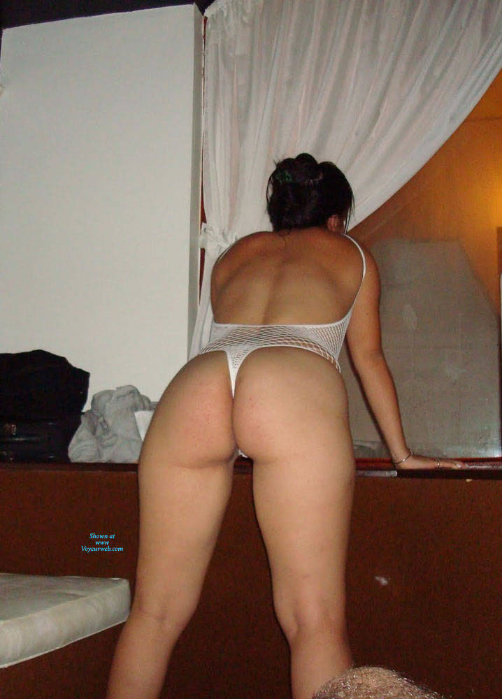 Pic #6 Net - Brunette, Lingerie, See Through, Amateur