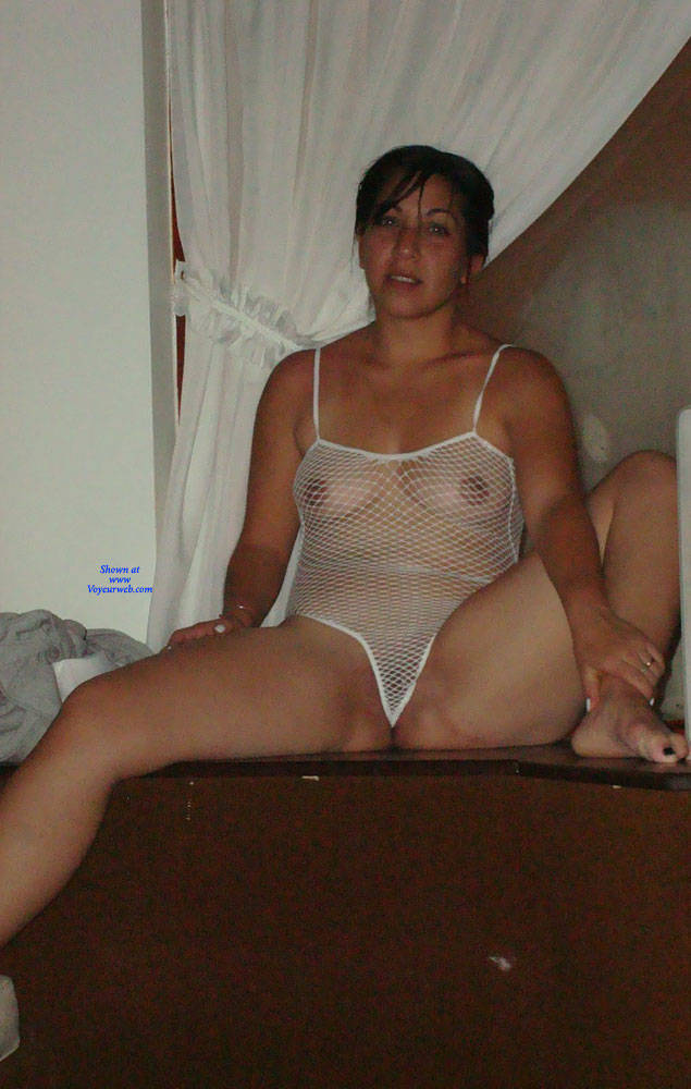 Pic #8 Net - Brunette, Lingerie, See Through, Amateur