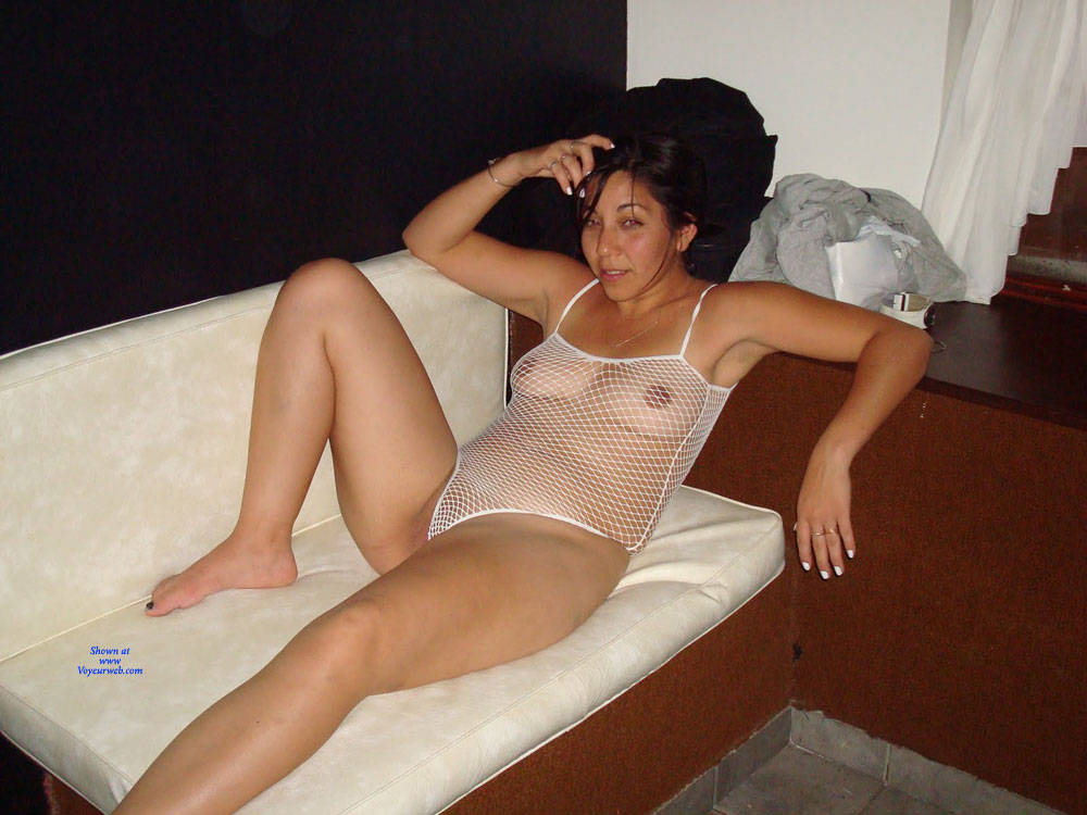Pic #10 Net - Brunette, Lingerie, See Through, Amateur